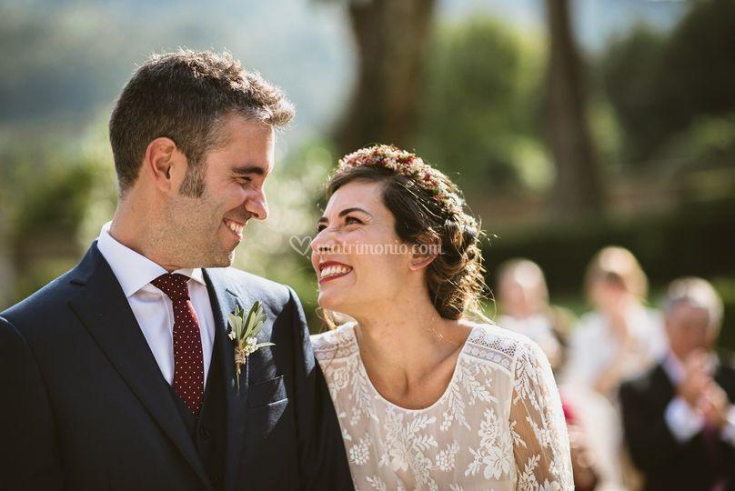 Maria e Fabio, Villa Bria
