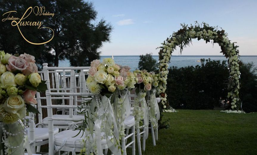 Matrimonio in giardino di italian wedding luxury foto