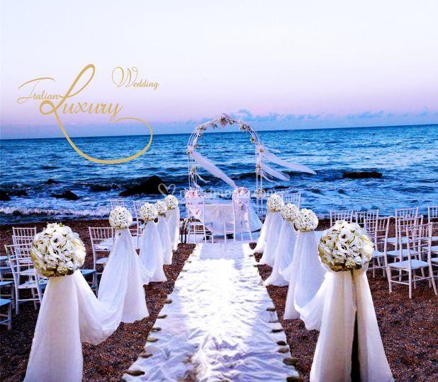 Wedding beach di Italian Wedding Luxury