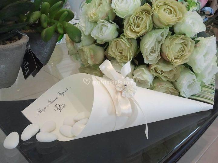 Cono confetti- Dream Wedding