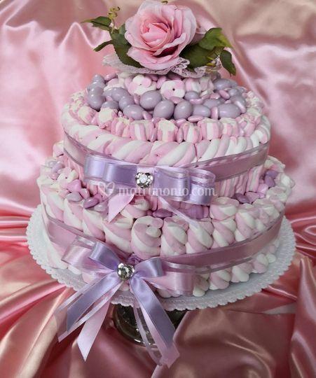 Le torte Marshmallows e Confet