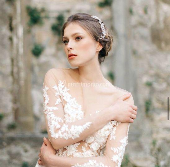 L'immagine della sposa fresca