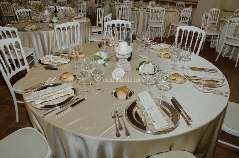 Opera's wedding, the dinner