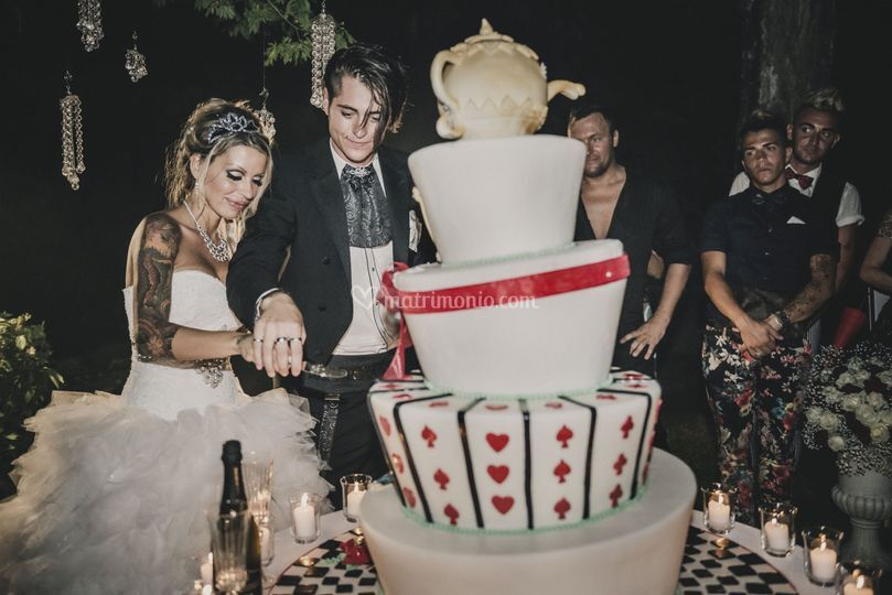 Wedding cake di eccezione!