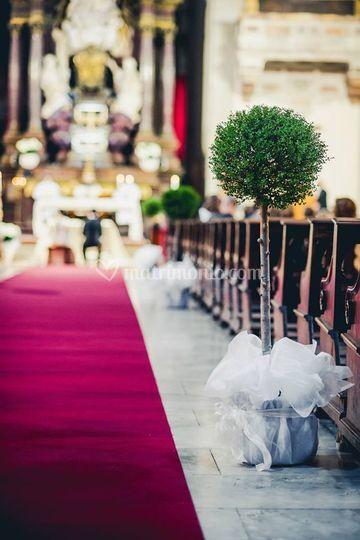 Opera's wedding, la chiesa