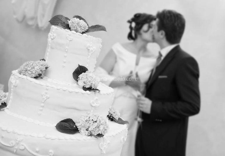 Opera's wedding, la torta