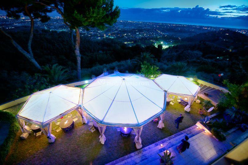 Circus wedding, la location