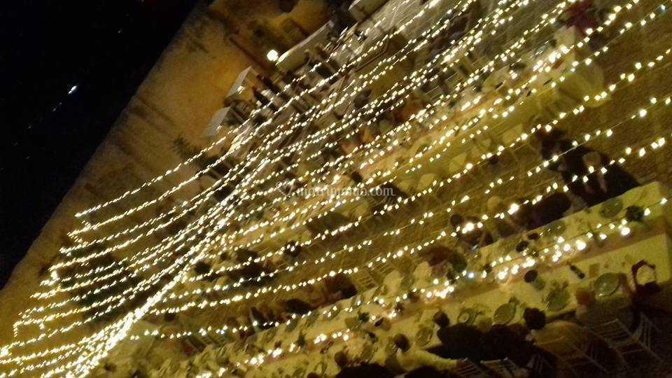 Cielo Stellato Led Matrimonio.Led Gold Cielo Stellato Di Basile Service Foto 2