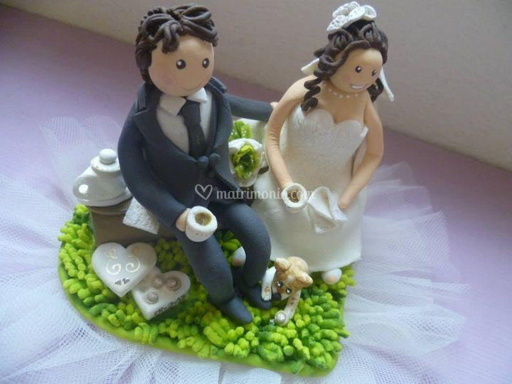 Decotorta personalizzata sposi