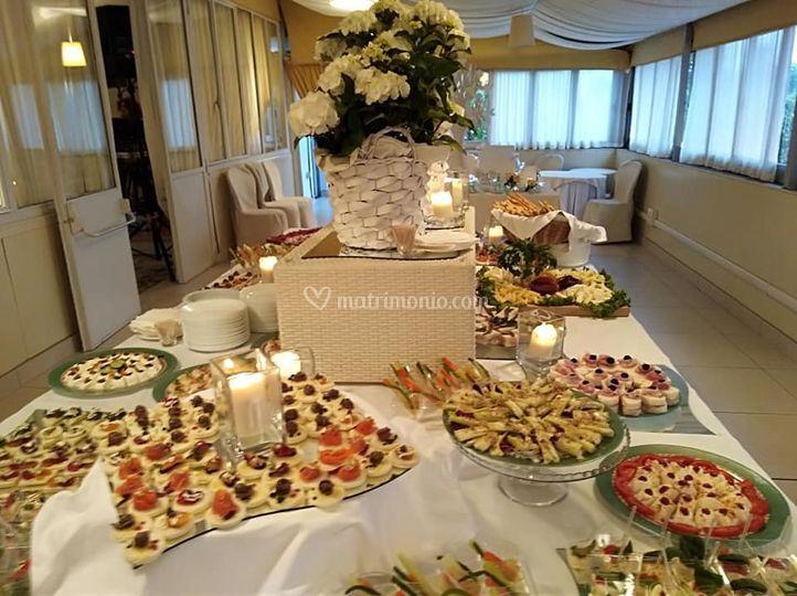Buffet di aperitivo