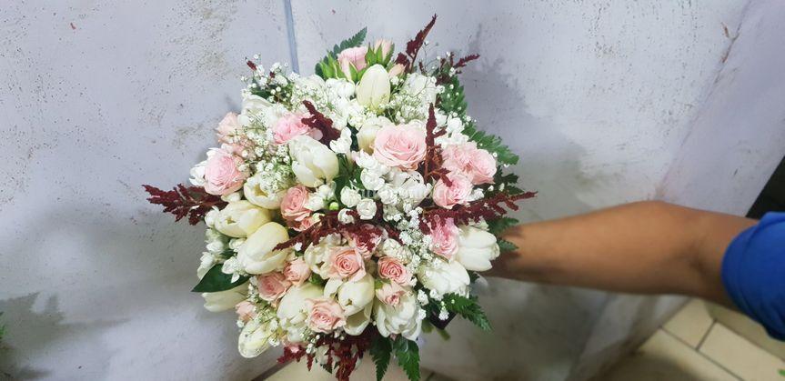Bouquet  tema vino