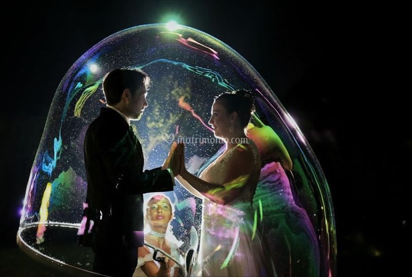 Wedding bubble's