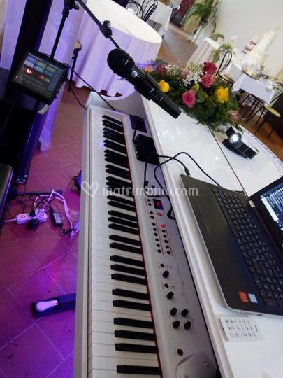 Particolare del pianoforte