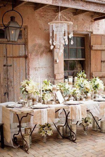 Wedding table a tema