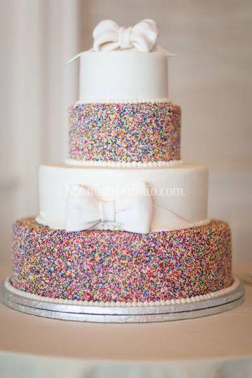 Wedding cake a tema