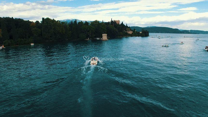 Drone Isola del Garda