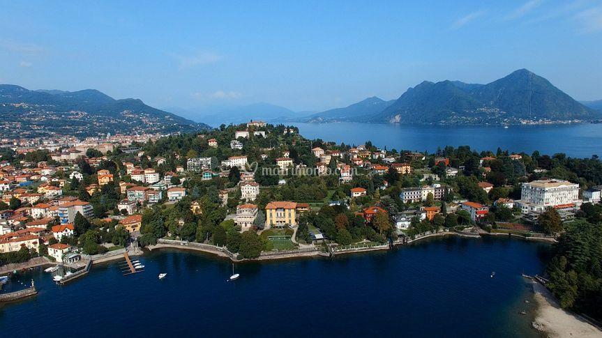 Drone Lago Maggiore