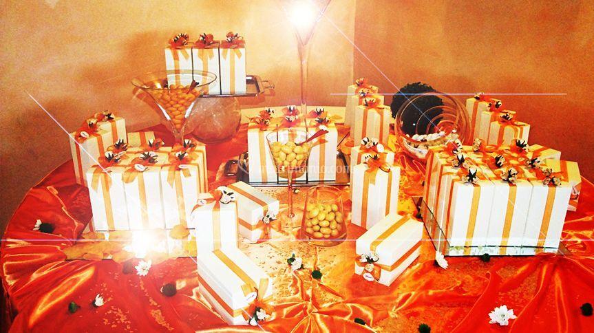 Cadeaux per gli invitati