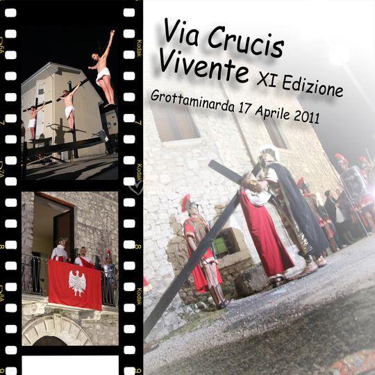 DVD Via Crucis vivente Grottaminarda 2011