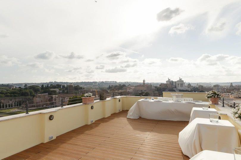 Terrazza su Roma di Terme di Tito Roof Garden | Foto 1