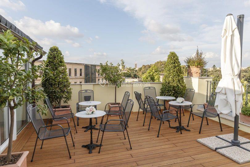Terrazza su Roma di Terme di Tito Roof Garden | Foto 7