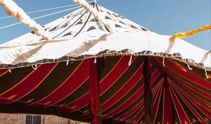 Tenda berbera aperta