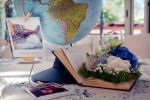 Around the world: allestimento