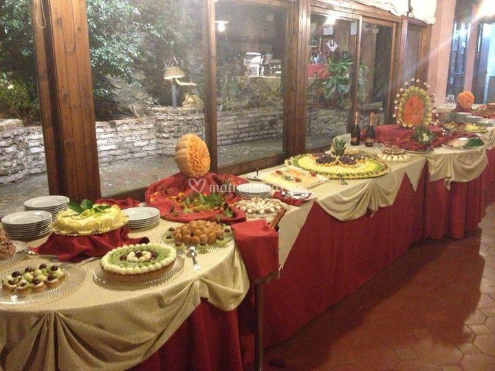 Il Buffet di Dolci e Frutta