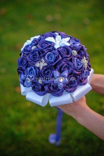 Bouquet di nastro e stelle