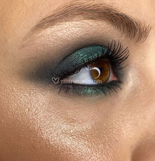 Makeup sui toni del verde