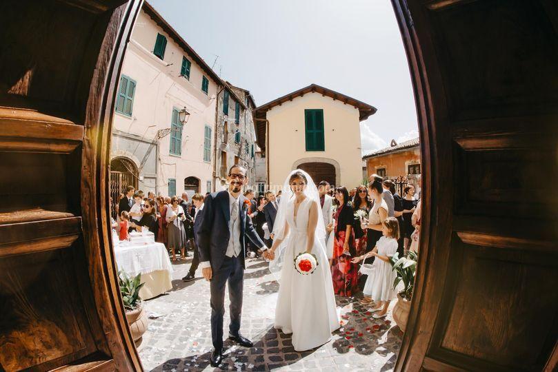 Foto a Chiara e Valerio
