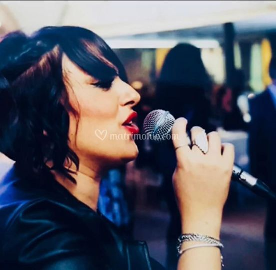 Vocalist Simona Volpe