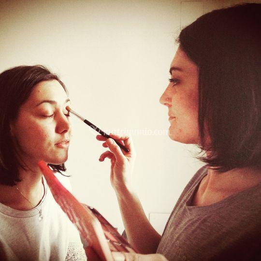 Sara Comi Make Up Artist