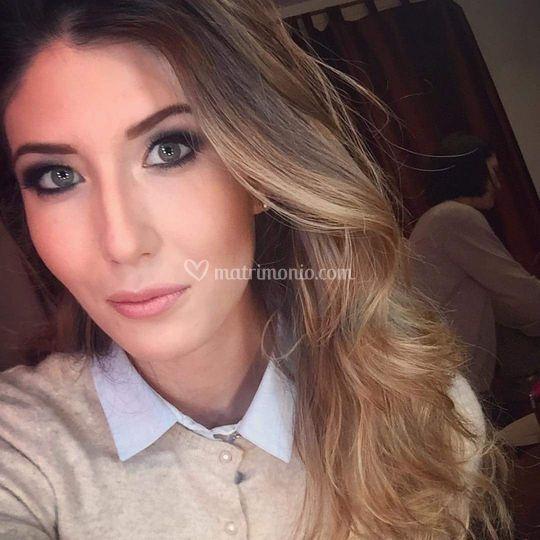 Sara Comi make up