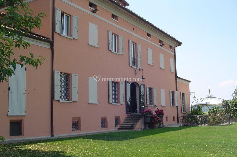 Villa dei marchesi Scarani