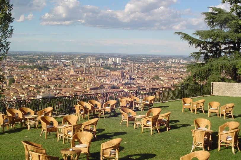 Il panorama di Bologna