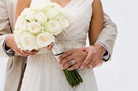 Bouquet rose gambo lungo di Fiori Loris