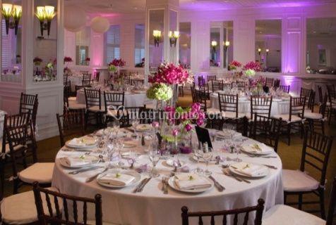 Decorazioni floreali per tavoli