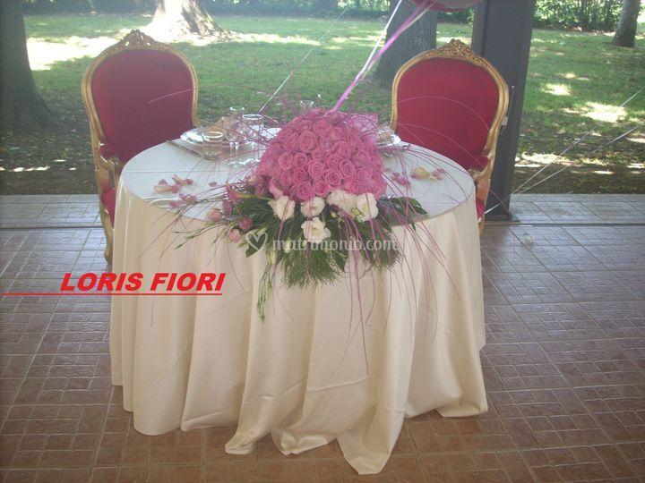 Rose acqua per gli sposi