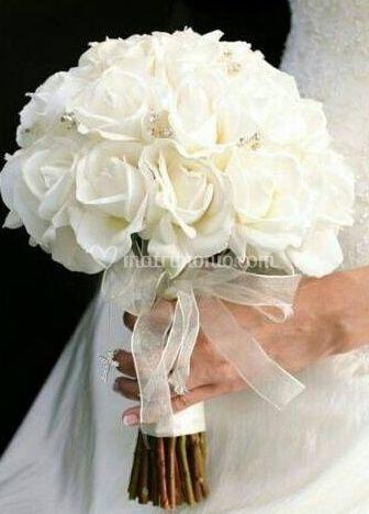 Il bouquet da sposa di L Orchidea  53f1b9555a1