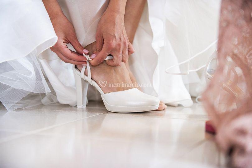 Le scarpette della sposa