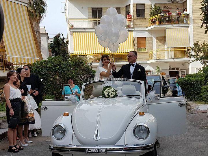 Volata a casa della sposo