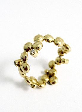 Oro giallo e diamanti
