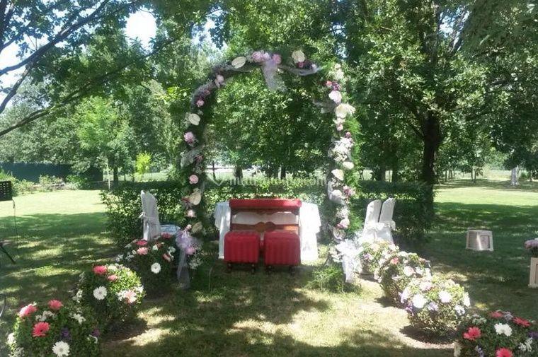 Fiorilandia for Decorazione giardino matrimonio
