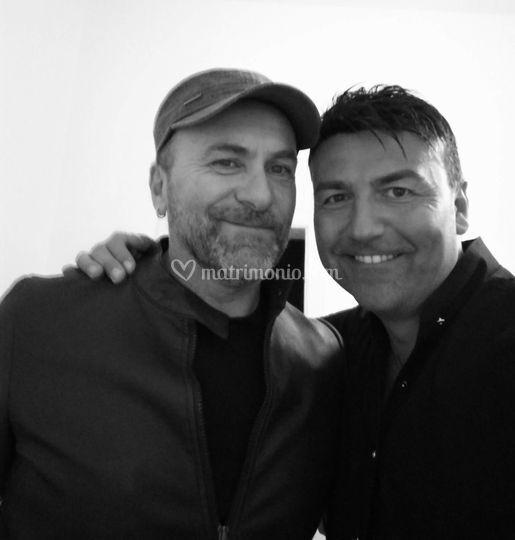 Con Gianfranco Gallo