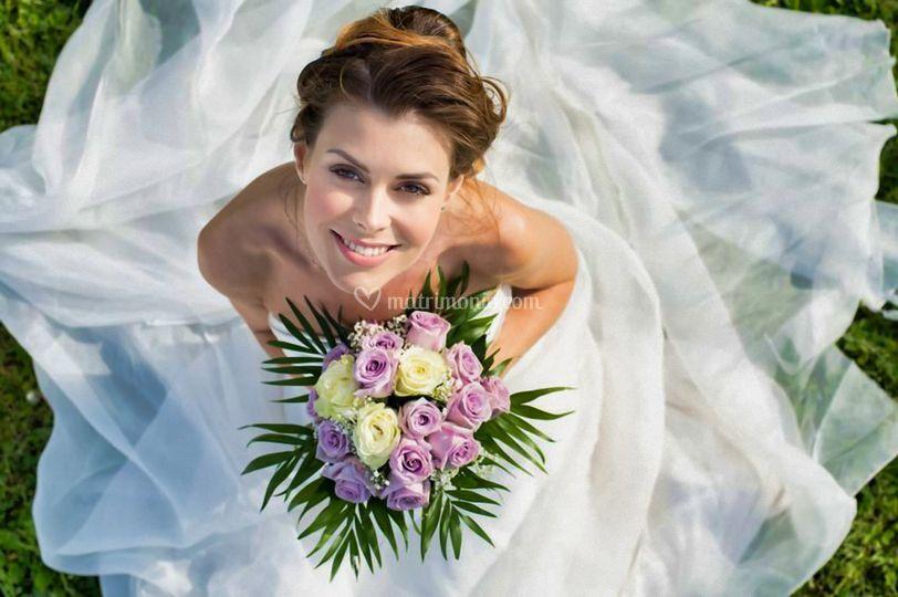 Sposa Foto dal Cielo con Drone