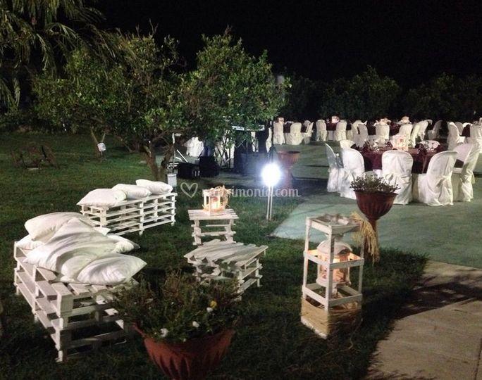 Agriturismo fiori d 39 arancio for Decorazione giardino matrimonio