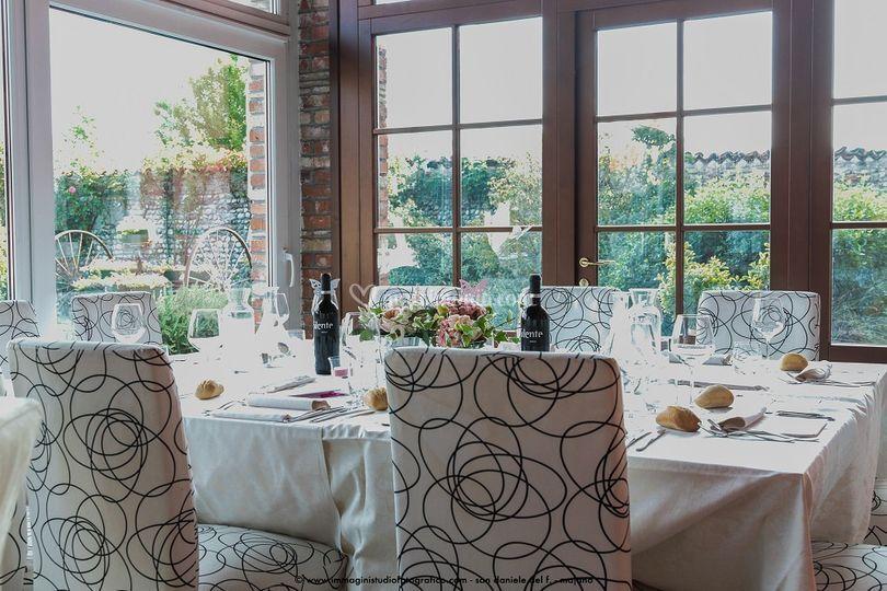 Set tavolo veranda
