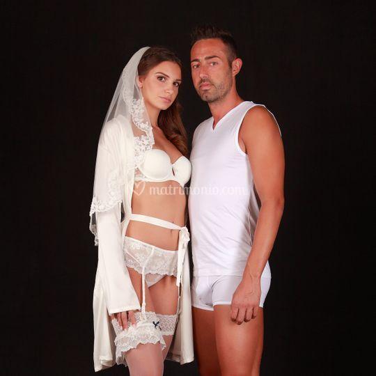 Collezioni intimo sposi