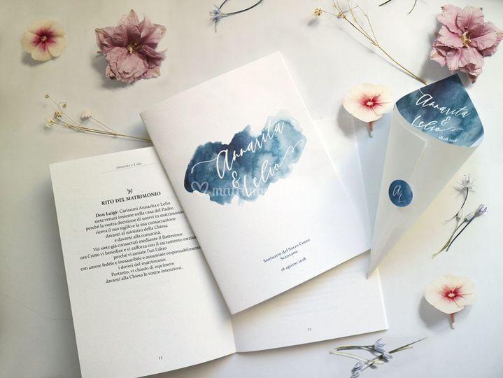 Libro messa Santorini